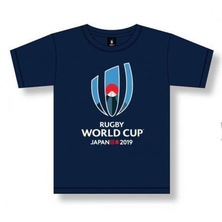 HOLIPROM T-Shirt Bleu pour Enfant Coupe du Monde de Rugby 2019