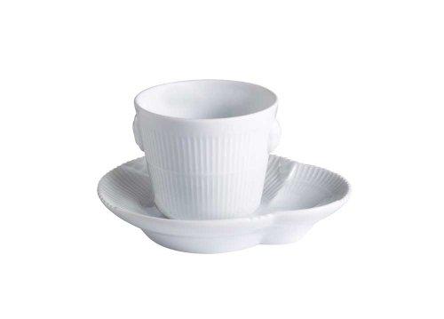 White Elements superiore e piattino,