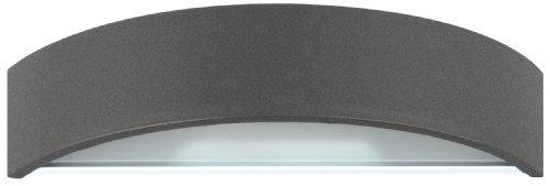 Lámpara de pared Smartwares 5000.333 Bastia – Aluminio y cristal – Luz...