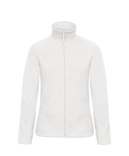 Damen Full Zip Microfleece - 10 Farben verfügbar - White - UK 10 / US 6 / EU 38 (Damen Full Zip)
