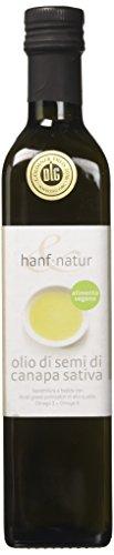 Hanf & natur olio di semi di canapa - 500 gr