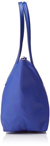 Lacoste L1212 Concept, Borsa a Tracolla da Donna Blu (Surf The Web)