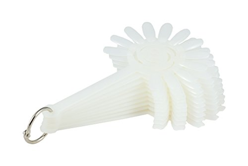 Nail Art Motif compartiments forme de fleur 120 Tips avec anneau