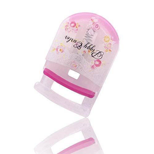 EEvER Umweltfreundliches Make-Up-Tool Wimpernzange Wimpern Clip mit Refill Pad entwickelt perfekt...