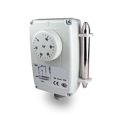 Tauchthermostat - Thermostat mit Fernfühler 0°C bis +55°C