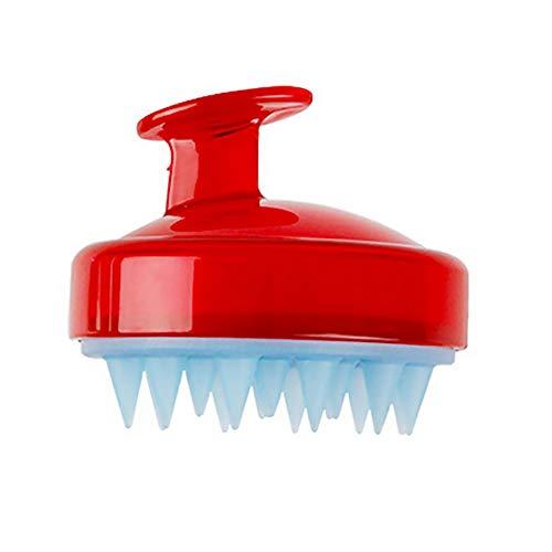 TAOtTAO Silikon-Shampoo-Massagebürste Silikon Shampoo kopfhaut dusche körper waschen haarmassage massagegerät bürstenkamm (C) - Conair-massagegerät