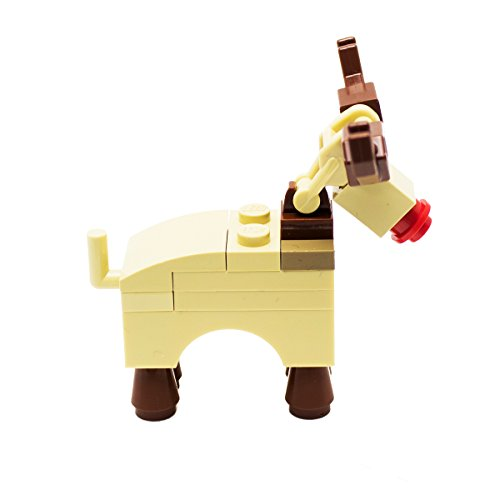LEGO Rudolph Reindeer Xmas Christmas Santa City - Buy Online in ...