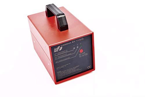 Mobiles fritec Ladebox Set zum Laden ohne Stromanschluss inkl. 12 V-Ladegerät - zum Aufladen von 12 V-Fahrzeug-Batterien ortsunabhängig und ohne Steckdose BV11915-SET800
