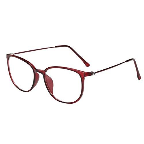 Diese sind nicht Lesen Brille 0.5~-6.0 Deylaying Unisex Klassisch Metall Runden Rahmen Brille Kurzsichtig Kurzsichtigkeit Brillen Harz L/öschen Linsen