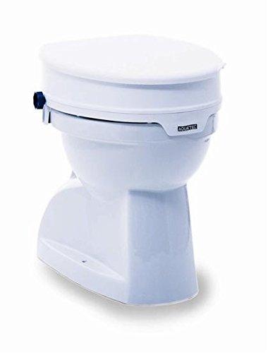 Toilettensitzerhöher für Erwachsene 10 cm hoch ohne Deckel