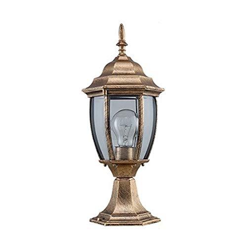 ASDFGHT LED Lámpara de Camino Paisaje Impermeable IP54 Lámpara de Poste de...