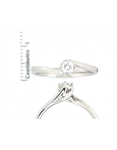 Zoom IMG-1 recarlo anello solitario anniversary in