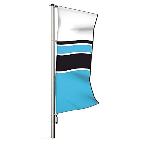 Main-Zelt Fahne Hissflagge 150 Hohlsaum mit Hohlsaum, Befestigungsart Ösen, Größe 150 x 400cm
