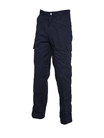 Fracht Hose mit Knieschutz Tasche Navy 32 L