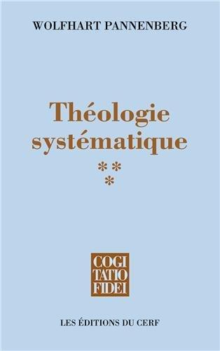 Théologie systématique : Tome 3 par Wolfhart Pannenberg