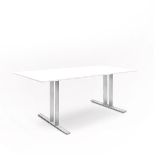weko Systemmöbel baureihe e AZ-TYP-17A1 Tisch, Holz, aluminium, 100 x 220 x 75 cm