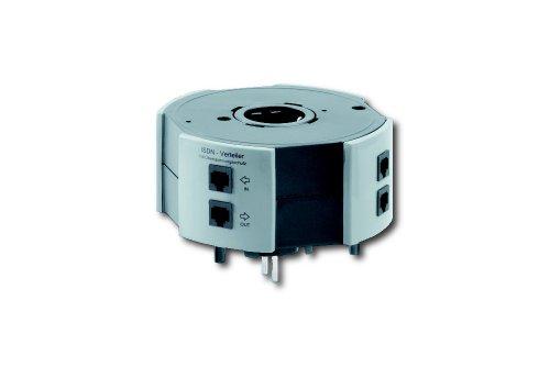 Vario Tower ISDN-Verteiler-Modul 7-fach mit Überspannungsschutz (0538x0120) ISDN-Verteilerdose VarioTower