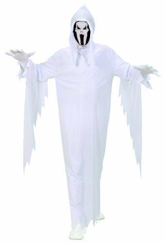 Widmann 02536 - Kinderkostüm Geist, Umhang und Maske, Gröߟe (Jungen Italienisch Für Ideen Kostüm)