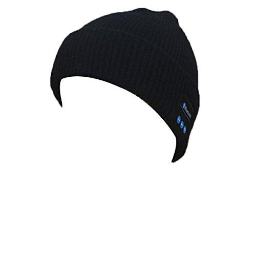 WANGHH Chapeau De Musique Bluetooth Chapeau D'hiver En Tricot Chapeau Magique Chapeau De Musique Mains Libres Chapeau Femmes/Hommes
