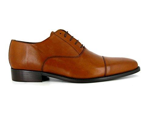 J.BRADFORD Chaussures Richelieu JB-Alec Camel Marron