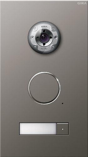 Gira 255120 Door Video Intercom Stainless Steel 1-Way