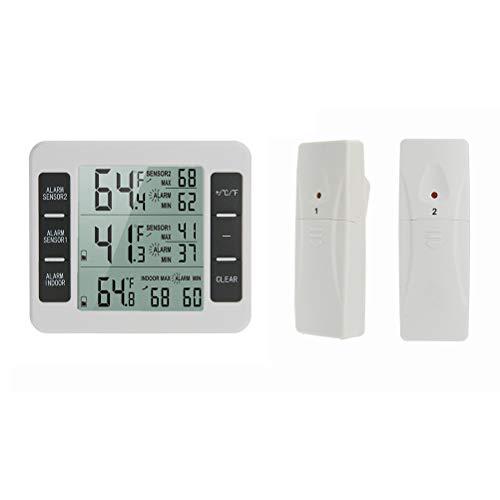 CaCaCook Termómetro digital inalámbrico refrigerador