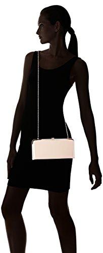 Accessorize Pochette rigide vernie Rose - Femme Chair