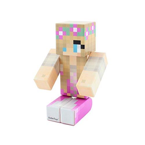 Cutsie Pink Princess Pixelaction Figure by EnderToys - un Giocattolo di Plastica
