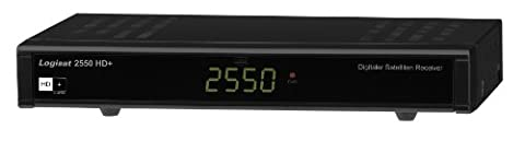 LogiSat 2550 HD+ light HD-Satellitenreceiver (HD+, Smartcard-Reader, 1080p) schwarz