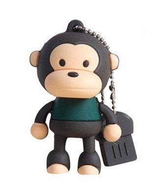 Affe 8 GB - USB Stick - Monkey - Memory Stick Data Storage - Pen Drive Speicherstick - Multicolor