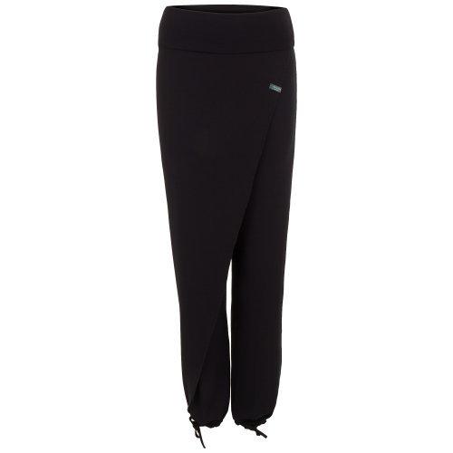 hut & berg balance Yoga Damen-Pumphose schwarz, THAI CROSS OVER Farbe: schwarz | Größe: M