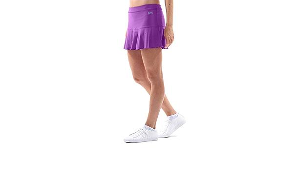 Golf Breathable Running Skort UPF 50+ Sun Protection SPORTKIND Girls /& Ladies Bell-Shaped Athletic Tennis Lightweight