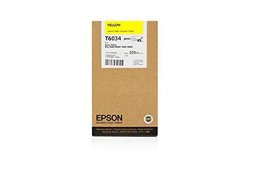 Preisvergleich Produktbild Epson Tintenpatrone yellow T 603 220 ml T 6034