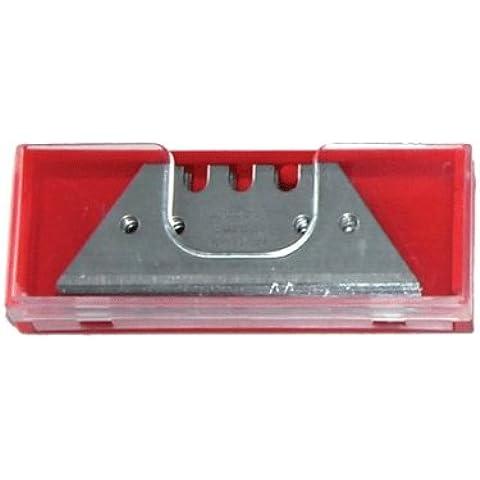 10 pcs cuchillas trapezoidales 0,6 mm alfombra de suelo de Leger Universal cuchillo de reemplazo de la hoja - hielo