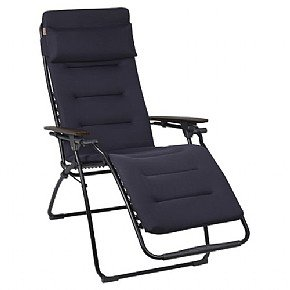 Lafuma LFM2437 Futura Air Comfort Reclining Chair - Acier