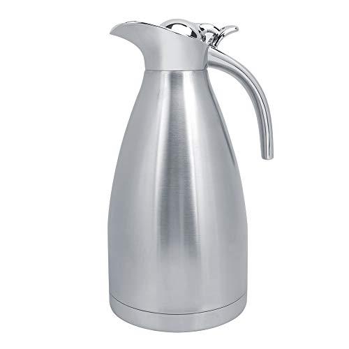 Jarras Térmicas Acero Inoxidable 2L Jarra Térmica Aislada Hogar Vacío al aire libre Agua Botella de café Hervidor Termo