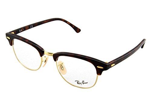 Ray-Ban RAYBAN Unisex-Erwachsene Brillengestell 5154, Braun (Havana), 49