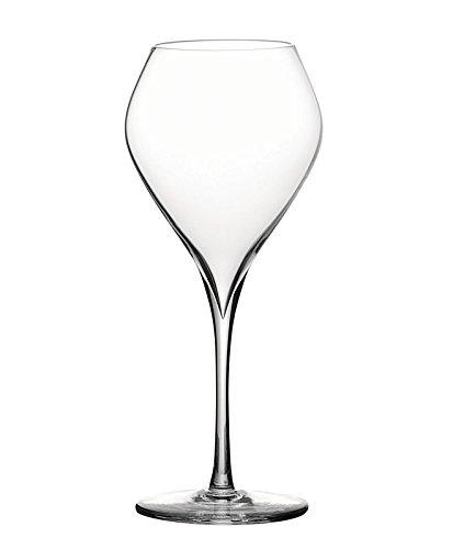 Peugeot Saveurs 250188 Esprit 180 Blanc 4 verres à vin blanc, Verre Transparent, 18 cm