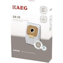 AEG GR 5S - Bolsas con dos microfiltros para aspiradoras AEG Electrolux Vampyrino, Smart e Ingenio (8 unidades)