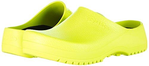 Birkenstock Professional Super-Birki, Damen Clogs, Gelb (Neon Yellow), 38 EU -