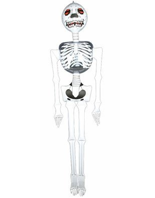 ON/Halloween PARTY DECORATION/DECOR/Creepy PIRATE Party INFLATE BONES/72 new in package/SKULL by Rhode Island Novelty ()