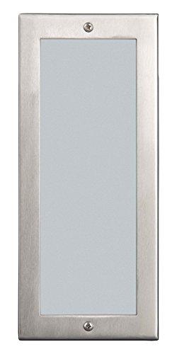 Brick Einbauleuchte, fest, 1x E27 maximal 40W, Metall/Kunststoff/Glas, edelstahl 96172/82