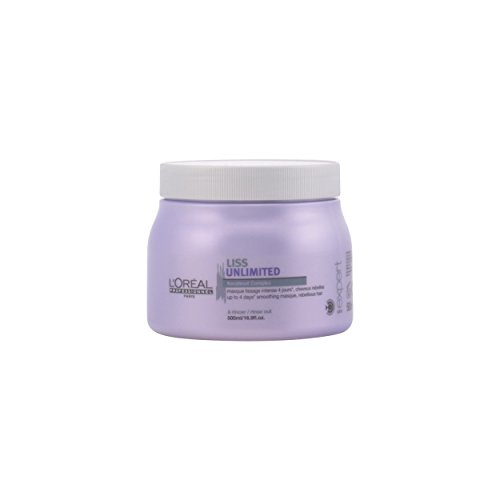 L'Oréal Professionnel Serie Expert Liss Unlimited Maske, 500 ml, 1er Pack, (1x 500 ml) Maxx-serie