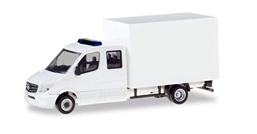 Herpa 013666 - Minikit de Cabina Doble con maletín, para Manualidades y coleccionar, Color Blanco