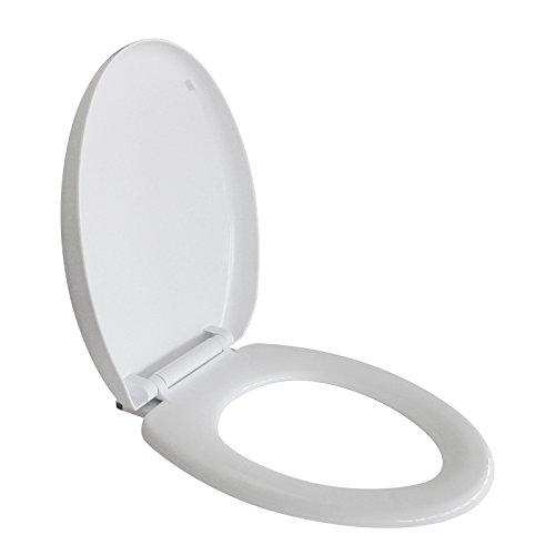 Idroblok idroblock 03036622 sedile wc, plastica, universale, 47x37 cm, rallentato ispezionabile, 1.5 kg, bianco