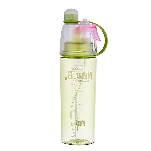 Mcgaojin borraccia spray a prova di perdite, borraccia sportiva da esterno, borraccia a prova di perdite, tazza da viaggio portatile, tazza per bere