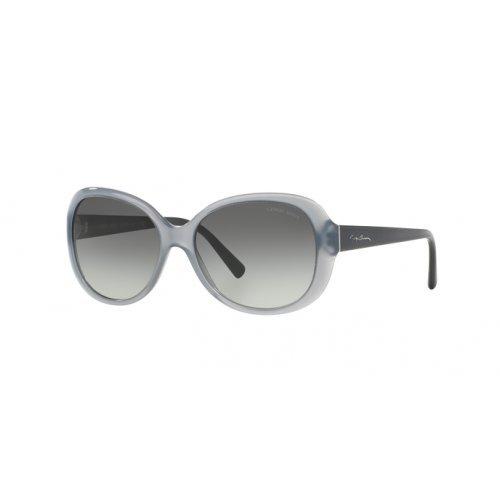 Giorgio Armani Damen AR8047 Sonnenbrille, Grau (Grey 534011), One size (Herstellergröße: 56)