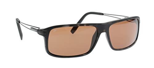 Serengeti occhiali da sole modello rivoli opaco marrone screziato, driver polarizzato lenti fotocromatiche, dimensione medie/grande