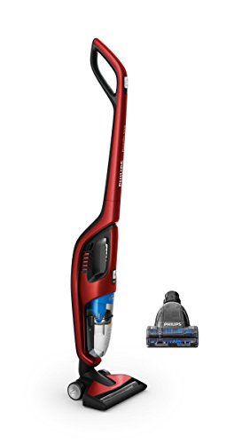 Philips Aspirateur balai 2 en 1 avec PowerCyclone FC6172/01 1-in-1 Akkusauger, rot - Hand Philips