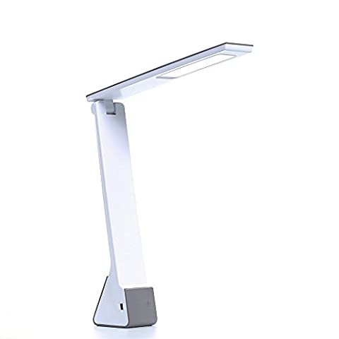 LED Desk Lamp, KQRNS Dimmable LED Table Lamp 3 Lighting